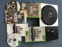 DJ Hero 1 & 2 and Turntable