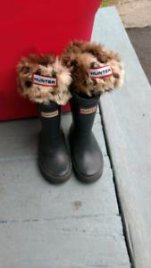 Hunter rain boots for girls size 7