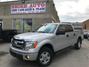2014 Ford F-150 XLT-5.0L-4X4-SUPERCREW-ONLY 40,000 KMS