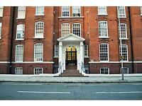 Studio flat in Jenner House, Hunter Street, Bloomsbury. London WC1N