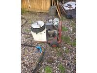 9 Hp Honda 4000psi Diesel jet wash / pressure washer