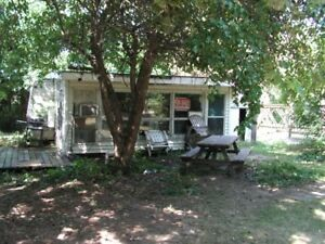 trailer and ad a room on lot