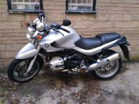 BMW R1150R 2003 Low mileage example which hasn't been used for past 3 years.