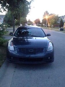 2008 Nissan Altima coupe 3.5 V6  Manual WILL SAFETY
