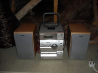 Cd cassete audio system