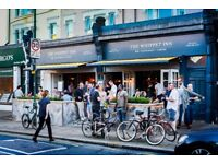 Awesome waiting staff required for bustling Kensal Rise Gastropub