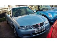 Rover 45 45 Club SE CVT (blue) 2005
