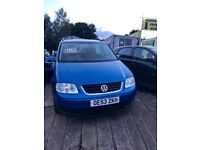 ✅ 2004 (53) - Volkswagen Touran 1.6 FSI SE 5dr [5 Seat] ✅