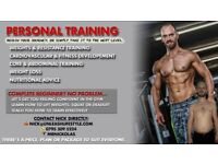Personal training based around you, your goals & enjoying the process.
