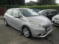 2012 62 Peugeot 208 1.4 HDi Access + 5dr Silver