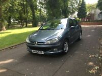 2006 (56) PEUGEOT 206 VERVE HDI 5DR **DRIVES VERY GOOD + CHEAP TO TAX + IDEAL FIRST CAR**