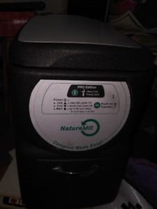 Nature Mill Composter. Working but sold as is