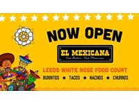 STORE MANAGER - El Mexicana White Rose Leeds