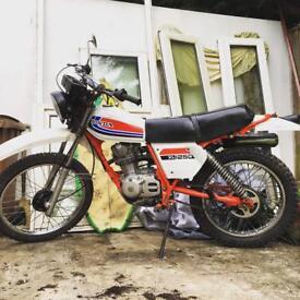 1981 Honda xl s 125 classic motorbike