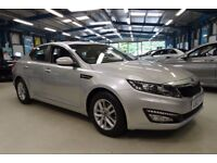Kia Optima 1 CRDI (silver metallic) 2012