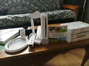 Nintendo Wii with Games and All the Fixings!