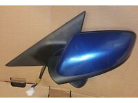 Mazda RX8 N/S Wing Mirror In Blue (2004)