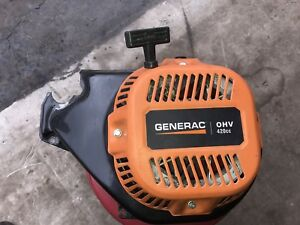 Parting our 420 cc Generac generator - Recoil