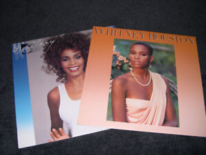 Whitney Houston - Ses 2 premiers albums 1985 & 1987 LP vinyl