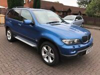 2005 BMW X5 SUV E53 3.0 d Sport 5dr,Panoramic roof,Full service History,Immaculate condition