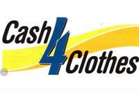 Cash 4 Clothes - Sell your unwanted clothes, shoes, bags and belts