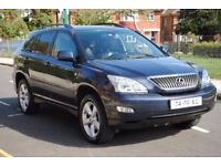 LHD LEFT HAND DRIVE LEXUS RX300 2004 EXECUTIVE 4x4 ,DVD, LEATHER ,REVERSE CAMERA,SAT-NAV LOADED