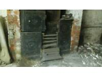YORKSHIRE RANGE PERIOD FIREPLACE/BLACK CAST IRON £299.99
