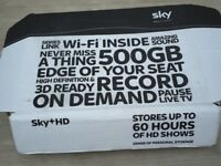 Sky+HD Set-Top Box (boxed).