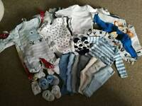 Boy bundle 0-3, 3-6 months