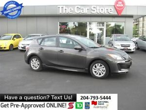 2013 Mazda MAZDA3 GS-SKY - htd seats BLUETOOTH -1 OWNER