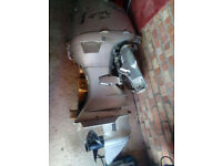 Honda 45hp four stroke outboard engine long shaft