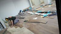 INSTALL Hardwood for $1.30 and Laminate from $0.99 sqft today
