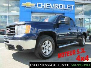 2010 GMC SIERRA 1500 4WD EXTENDED CAB 5.3L, 4x4