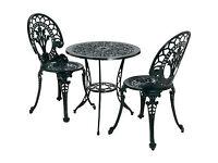 Ascot 2 Seater Cast Aluminium Patio Furniture Set