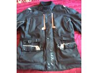 Motorbike jackets and Kevlar jeans