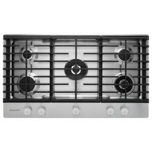 Kitchen Aid 5 Burner Gas Cook Top