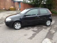 55 REG FIAT PUNTO 1.2 IN BLACK IDEAL FIRST CAR