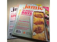 Jamie Magazine - cookery magazine bundle of back issues
