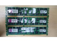 12GB Kingston DDR3 RAM