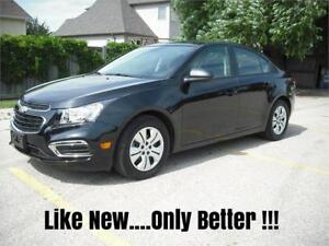 2015 Chevrolet Cruze LS , ONLY 1000 km's!!!