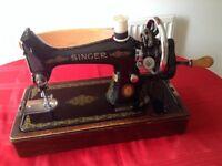 Singer handsewing machine
