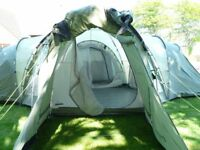 Outwell Hartford XL family tent - sleeps up to 8 people.
