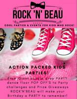 COOL PARTIES & EVENTS FOR KIDS WHO ROCK!