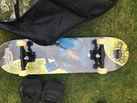brand new skateboard skate board batman design