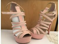 Carvela Kurt Geiger nude/ pink brand new shoes