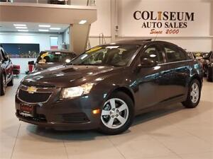 2014 Chevrolet Cruze 2LT-AUTO-NAVI-REAR CAM-LEATHER-SUNROOF-ONLY