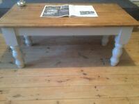 Shabby Chic Rustic Farmhouse Coffee Table