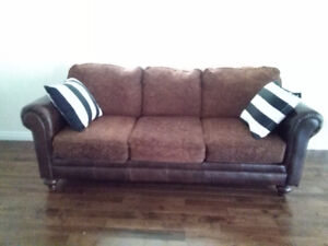 $280 ~ 2 SOFA SET ~ 3 seat and  2 seat for SALE  in Airdrie