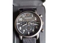 Mens emporio armani chronograph watch. Rrp £225