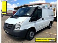 SALE SALE!! Ford Transit Van 2.2 260,1 Owner-EX BT, 65 K Miles, FSH -8 Stamps, 1YR MOT -Elec Windows